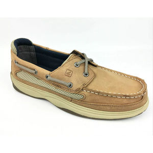 Sperry Top-Sider Boys Lanyard Nubuck Boat Shoes
